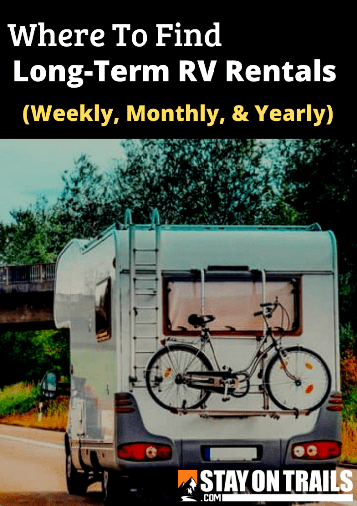 Long Term Monthly RV Rental