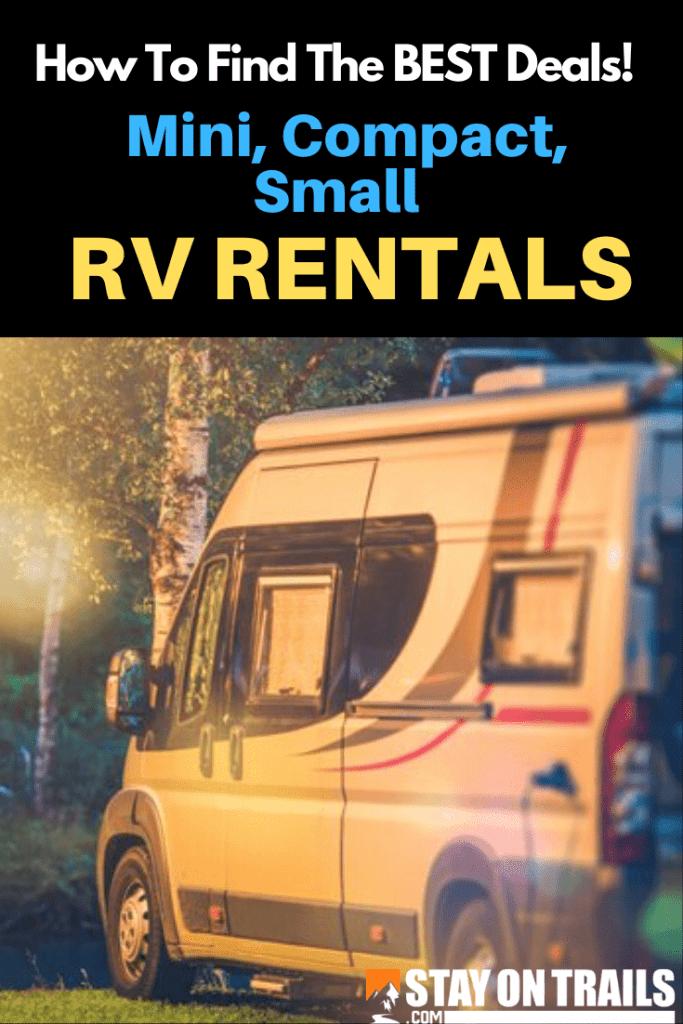 small RV rental